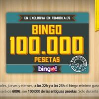 Tombola: Bingo garantizado de 600? durante el 16 y 17 de octubre