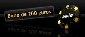 Bono 200 euros en el Casino en linea