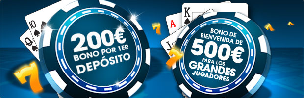 William Hill Casino: Bono de bienvenida de 200€