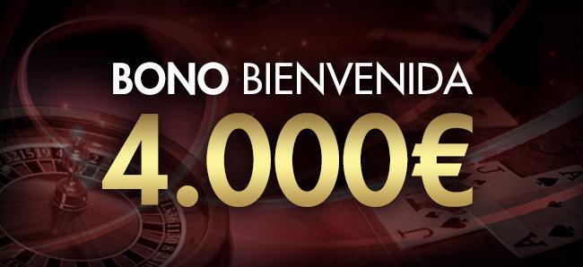 Sportium Casino: Bono de bienvenida de 4000?