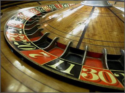 Historia de la introducci?n de la ruleta en los casinos.